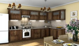 Кухня Платінум - Горіх Пасифік