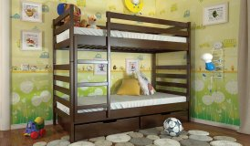 РІО - двохярусне деревяне ліжко